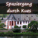 Spaziergang durch Kues
